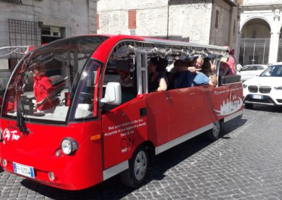 Foto minibus a Spoleto-City Red Bus10